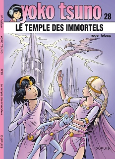 Couverture Le temple des immortels